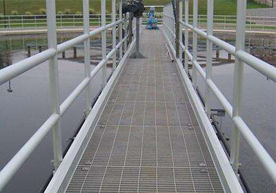 Plain Galvanized Steel Grating for Walkway